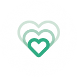 green heart outlines